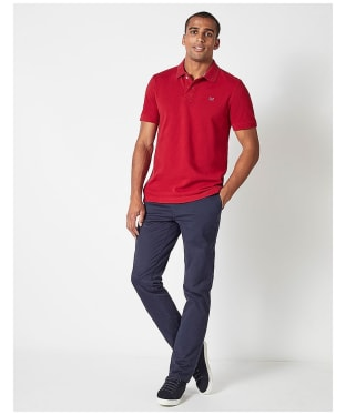 Men's Crew Clothing Classic Polo Shirt - Red