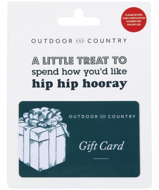 Outdoor and Country - Gift Card -
