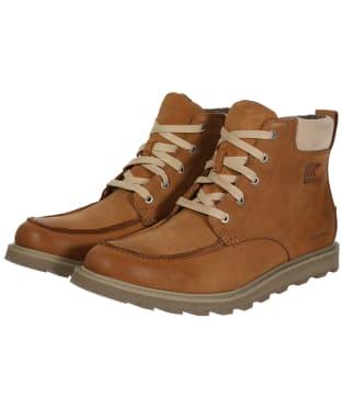Men's Sorel Madson™ Moc Toe Waterproof Boots - Camel Brown