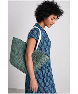 Women's Seasalt Texture Basket Bag - Dark Lichen