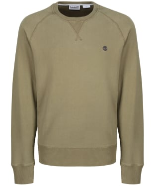 Men's Timberland Exeter River Crew Sweater - Martini Olive