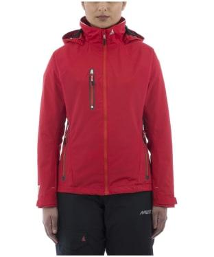 Women's Musto Sardinia BR1 Waterproof Jacket - True Red / Platinum