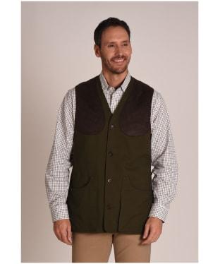 Men's Schoffel All Season Shooting Vest - Dark Olive