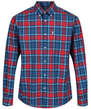 Men's Barbour Highland 6 Regular Shirt - Red