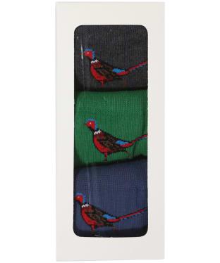 Men's Barbour Pheasant Stripe Gift Set - Multi