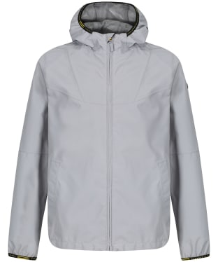Boy's Barbour International Grange Waterproof Parka Jacket, 2-9yrs - Soft Grey