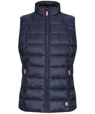 Girl's Barbour Deerness Quilted Gilet, 10-15yrs - Navy