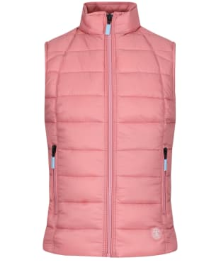 Girl's Barbour Deerness Quilted Gilet, 10-15yrs - Vintage Rose