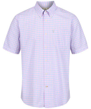 Men's Barbour Seersucker 1 Regular Shirt - Pink