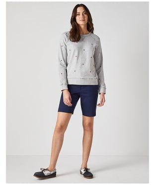Women's Crew Clothing Embroidered Sweatshirt