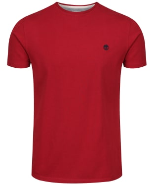 Men's Timberland Dunstan River Crew Slim Tee - Rio Red