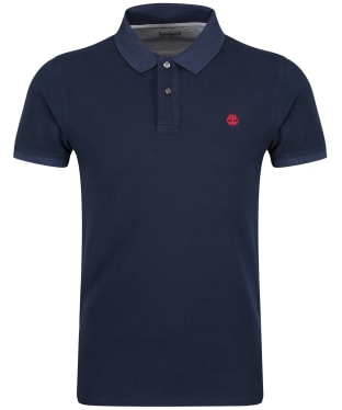 Men's Timberland Millers River Pique Slim Fit Polo Shirt - Dark Navy
