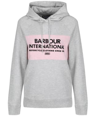 Women's Barbour International Croft Hooded Sweatshirt