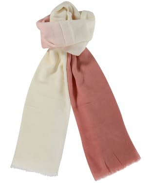 Women's Barbour Dipdye Wrap - Pink Ombre