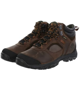 Men's Timberland Mt. Major Mid Gore-Tex® Boots - Dark Brown Full-Grain