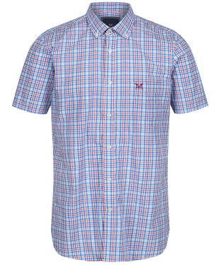 Men's Crew Clothing Multi Check Shirt - Blue Multi