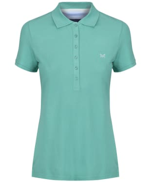 Women's Crew Clothing Classic Polo Shirt - Spring Green