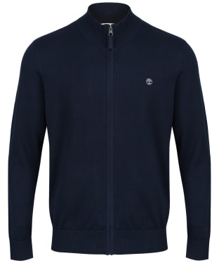 Men's Timberland Williams River Full Zip Sweater - Dark Navy