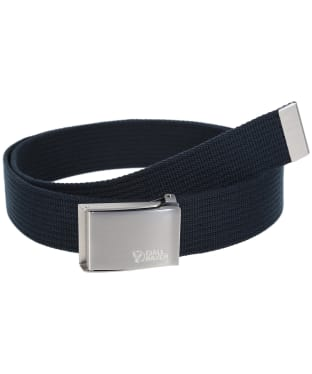 Men's Fjallraven Canvas Belt - Dark Navy