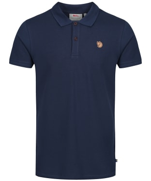 Men's Fjallraven Ovik Polo Shirt - Navy