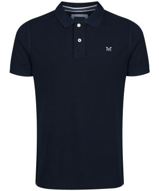 Men's Crew Clothing Classic Pique Polo Shirt - Navy
