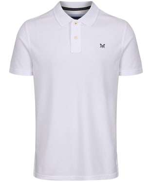 Men's Crew Clothing Classic Pique Polo Shirt - White