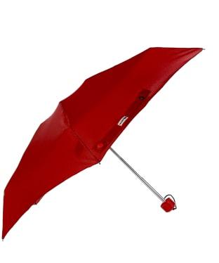Hunter Original Mini Compact Umbrella - Military Red
