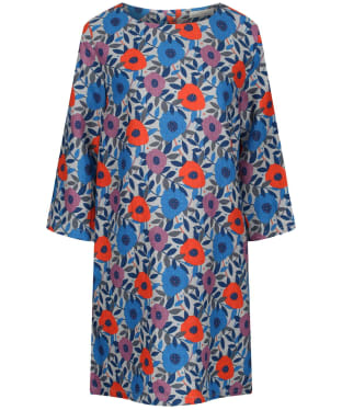 Women's Seasalt Sol Blaze Tunic Top - Flower Collage Cobble