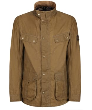 Men's Barbour International Lightweight Duke Waxed Jacket - Sand