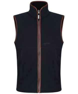 Men's Schoffel Oakham Fleece Gilet - Slate Blue