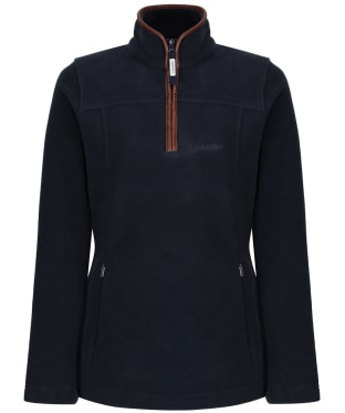 Women's Schoffel Tilton 1/4 Zip Fleece - Slate Blue