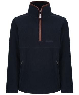 Men's Schoffel Berkeley 1/4 Zip Fleece - Slate Blue