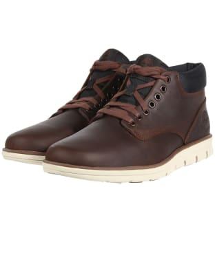 Men's Timberland Bradstreet Chukka Boots - Dark Brown Full-Grain