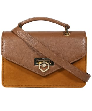 Women's Fairfax & Favor Loxley Mini Leather Bag - Tan Leather