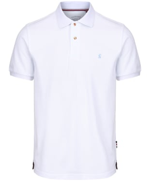 Men's Joules Woody Classic Polo Shirt - White