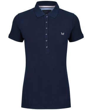 Women's Crew Clothing Classic Polo Shirt - Navy