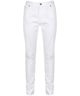 Women's Schoffel Cheltenham Jeans - White