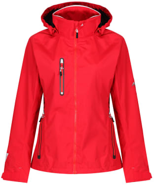 Women's Musto Sardinia BR1 Waterproof Jacket - True Red / Platinum