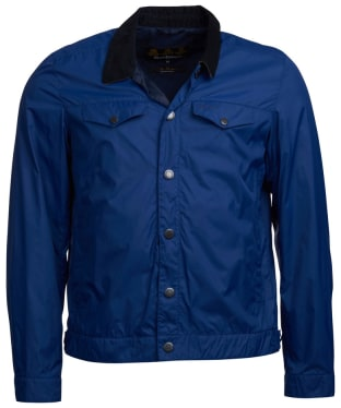 Men's Barbour x Sam Heughan Grant Casual Jacket - Inky Blue