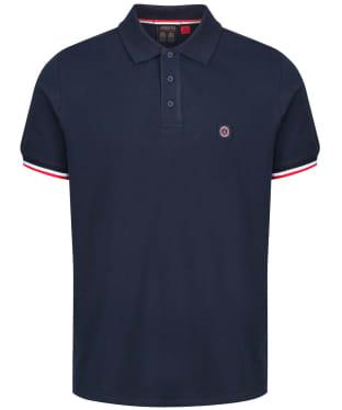 Men's Musto Cove Short Sleeve Polo Shirt - True Navy