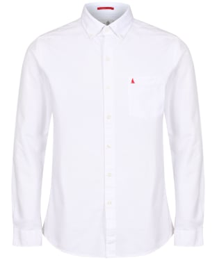 Men's Musto Aiden Long Sleeve Oxford Shirt - White