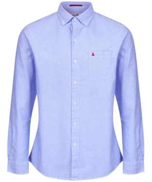 Men's Musto Aiden Long Sleeve Oxford Shirt - Pale Blue