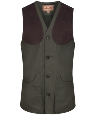 Men's Schoffel All Season Shooting Vest - Dark Olive