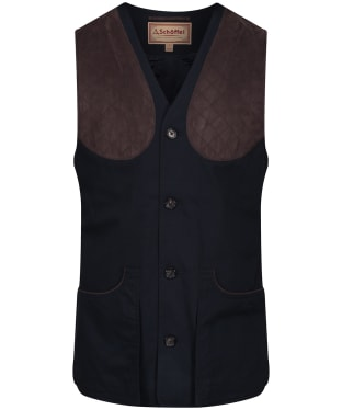Men's Schoffel All Season Shooting Vest - Navy