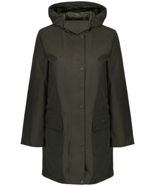 Women's Barbour Barogram Waterproof Jacket - Olive