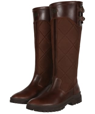 Women's Le Chameau Jameson Quilted Boots - Caramel