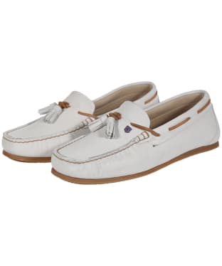 Women's Dubarry Jamaica Boat Shoes - Sail White