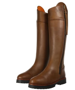 Women's Fairfax and Favor Imperial Explorer Narrow Fit Boots - Oak Leather