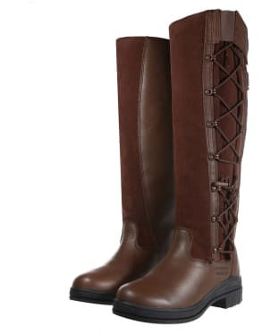 Women's Ariat Grasmere H2o Waterproof Boots - Chocolate