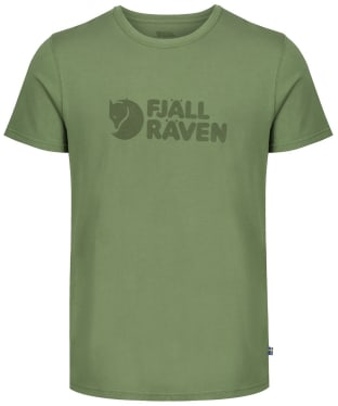 Mens Fjallraven Logo T-Shirt - Fern